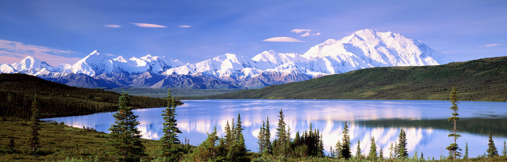 Wonder Lake, Denali National Park Mural