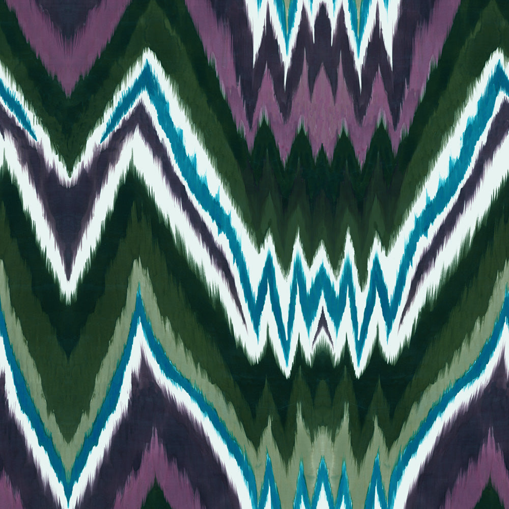 Glam Rock Ikat - Calm Wallpaper
