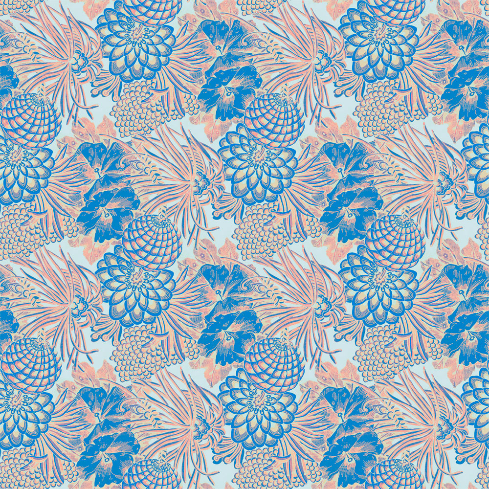 Floral Evolution - Pomander Wallpaper