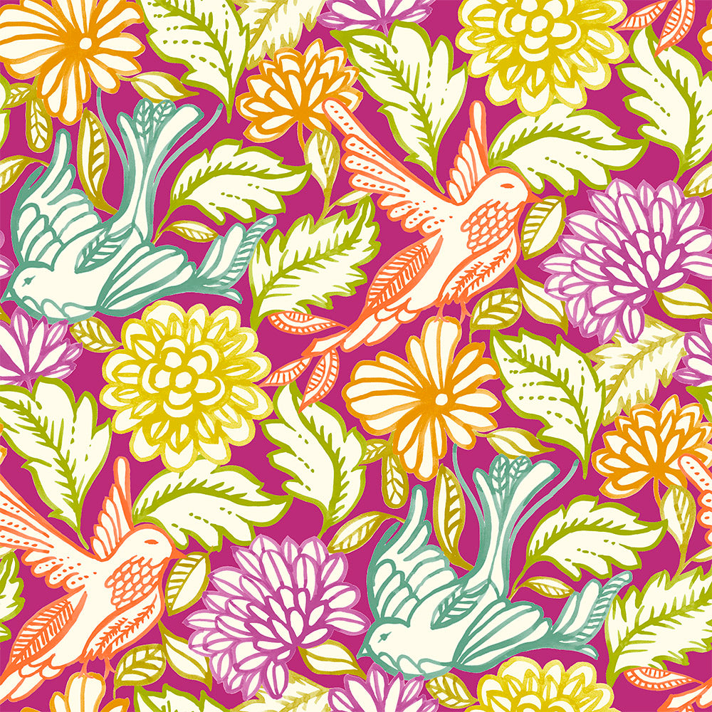 Birdsong - Shanty Wallpaper