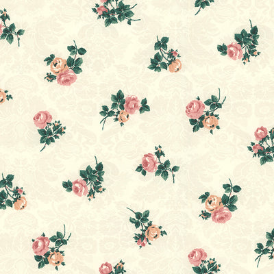Antique Rose Wallpaper