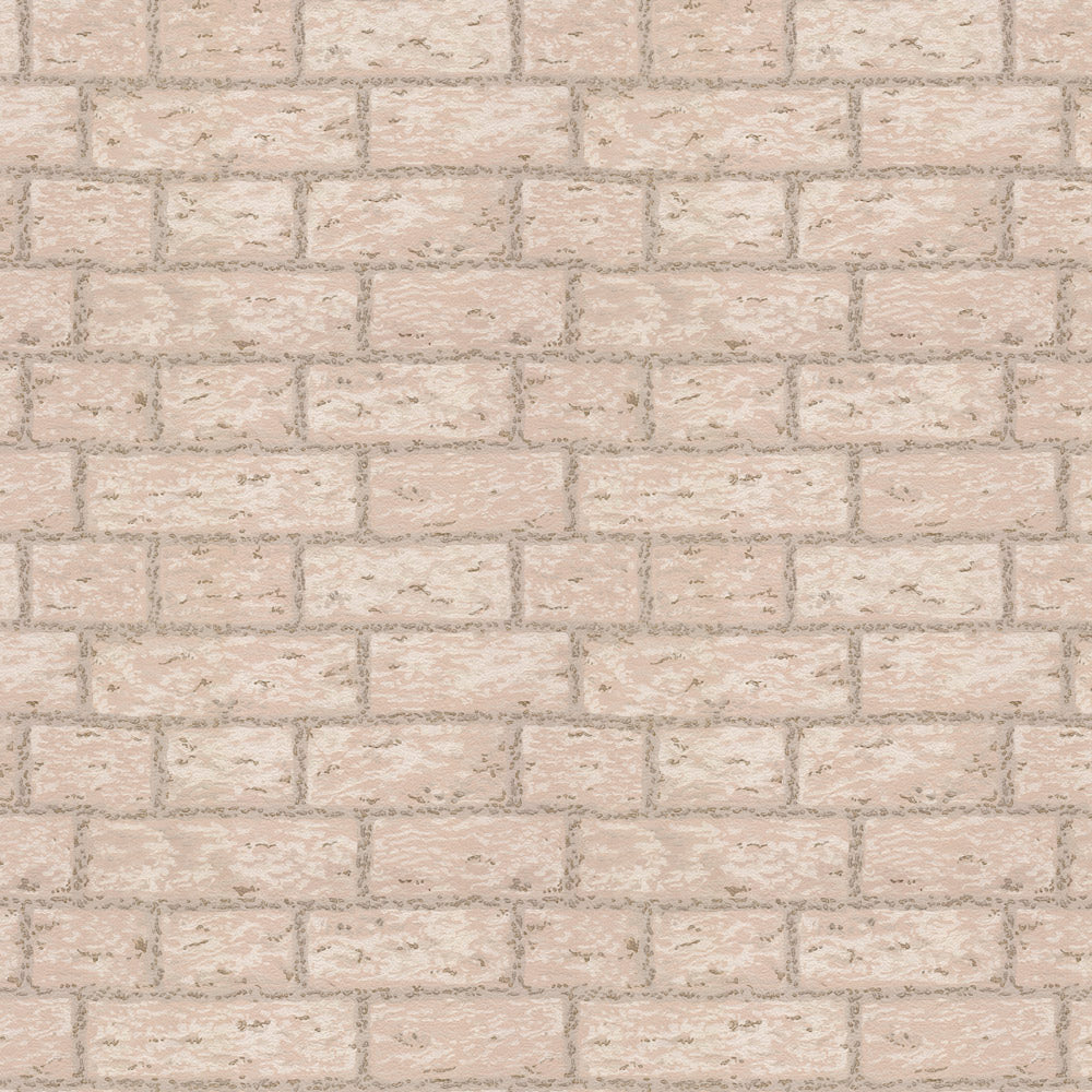 Masonry - Oatmeal Wallpaper