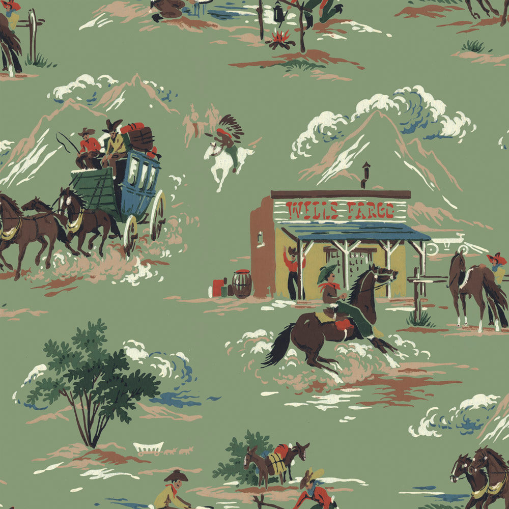 Wild West Wallpaper