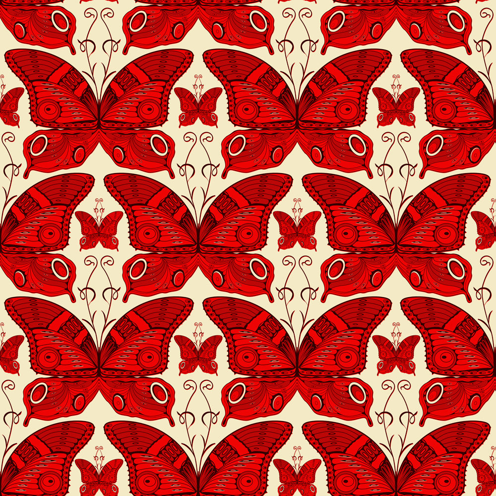 Painted Lady - Rouge Wallpaper
