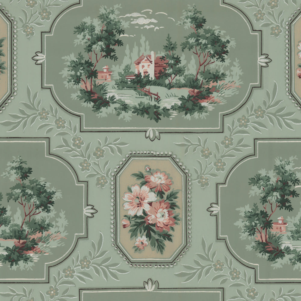 Verdant Villa Wallpaper