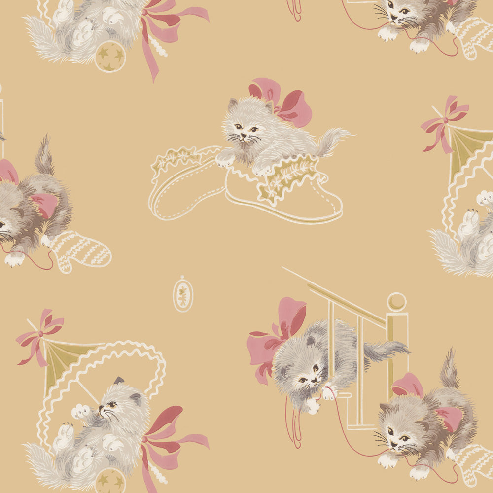 Fancy Feline Wallpaper