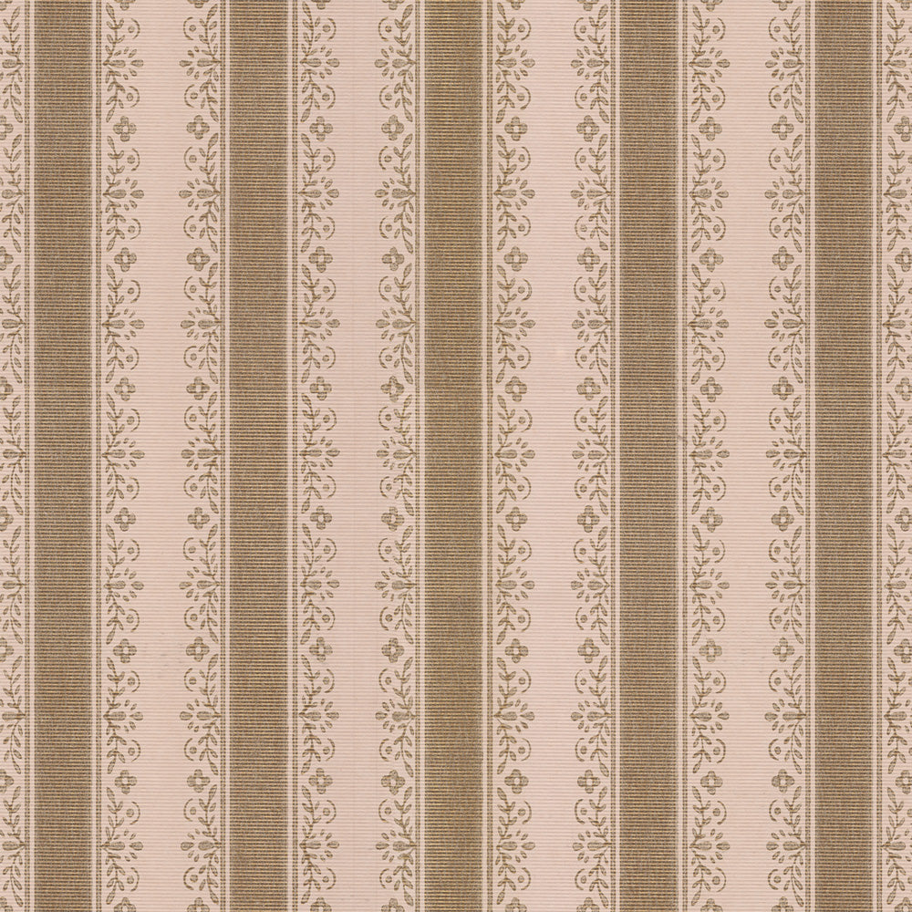 Buttermilk - Umber Wallpaper
