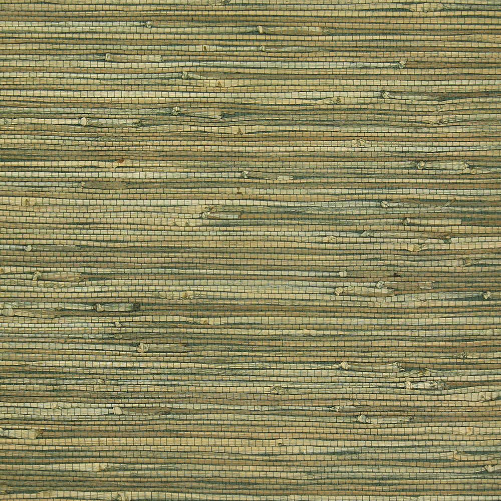 Exotic Naturals | Olive Grasscloth Wallpaper