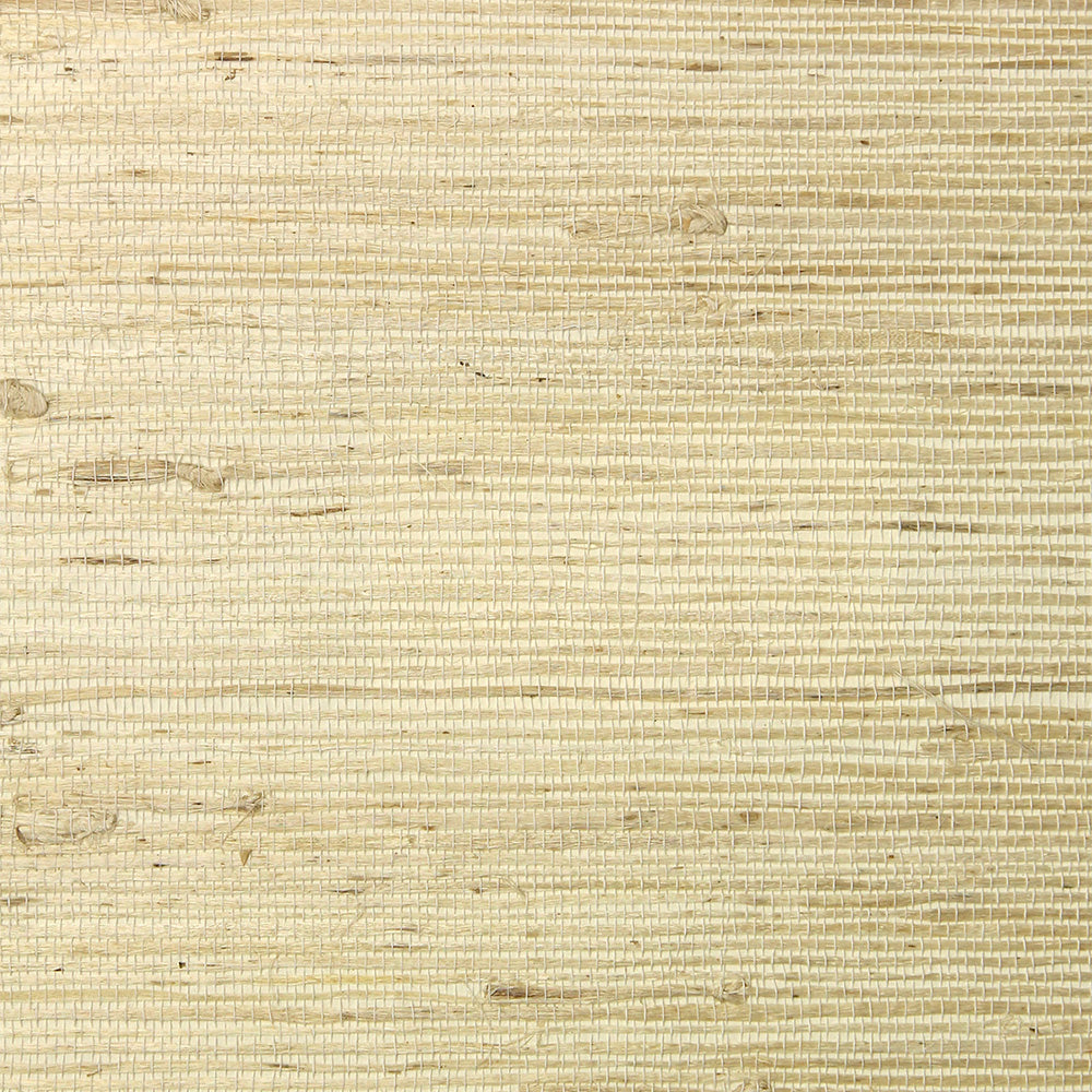 Cream Grasscloth Wallpaper