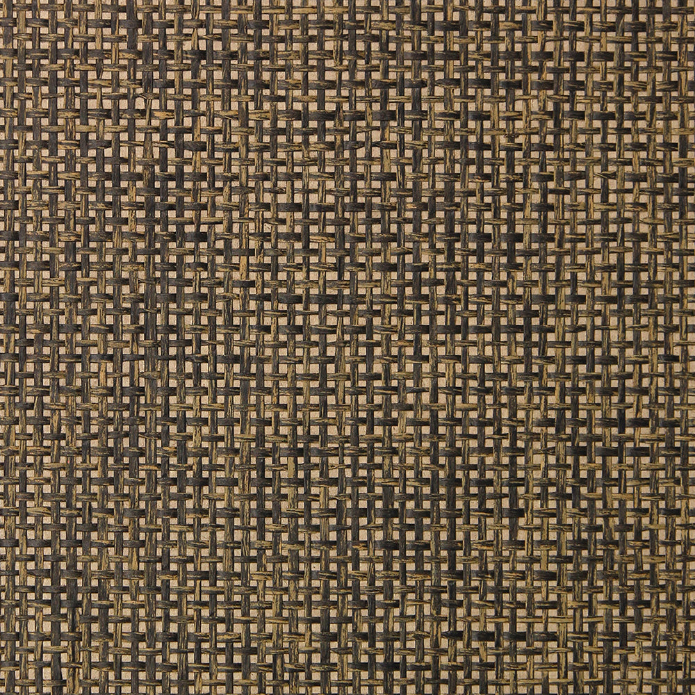 Mocha Grasscloth Wallpaper