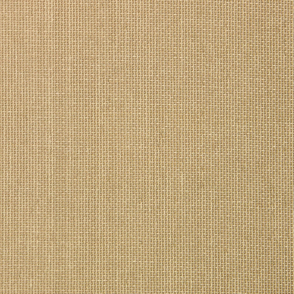 Camel Grasscloth Wallpaper
