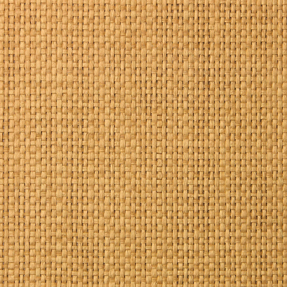 Caramel Grasscloth Wallpaper