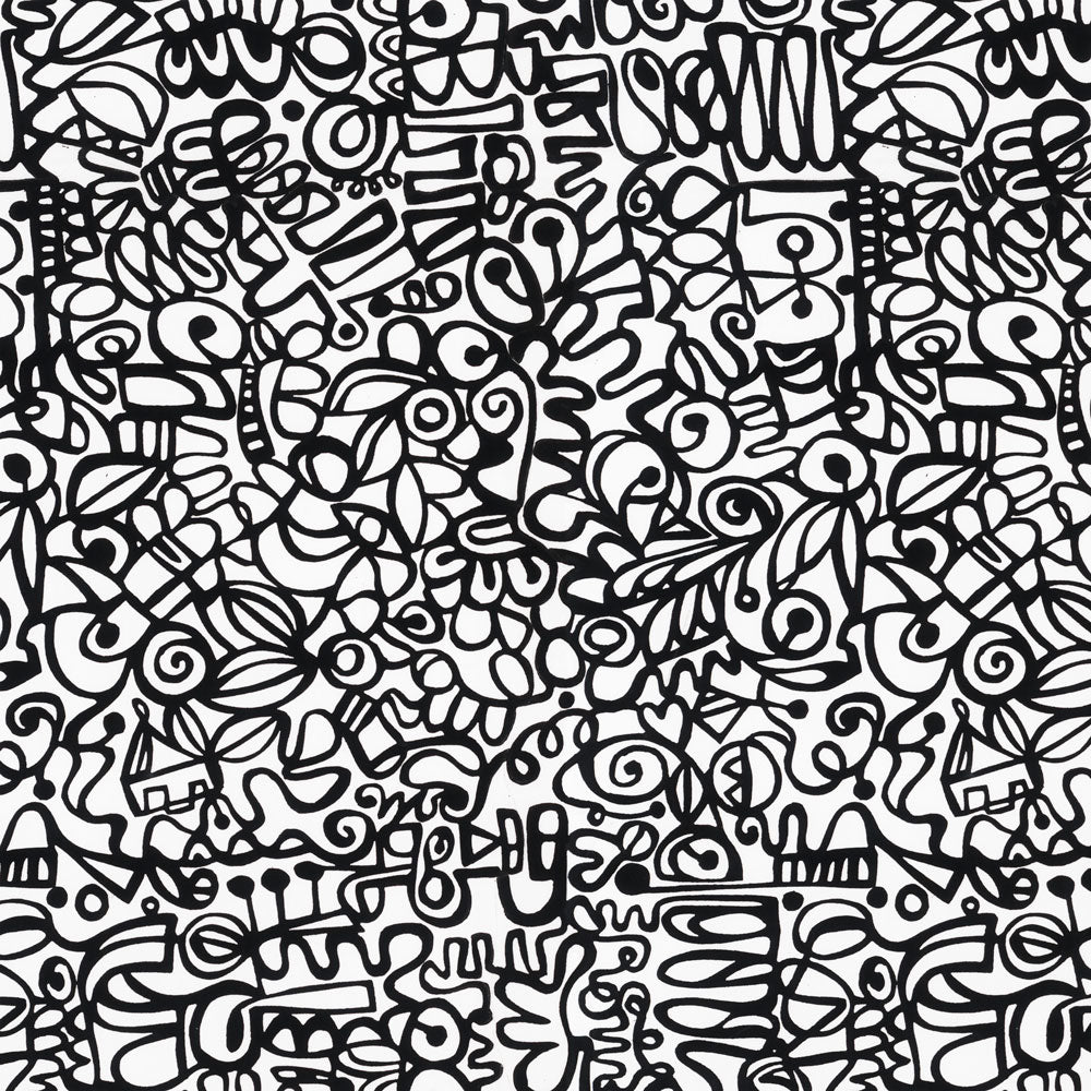 Graffiti - Black Wallpaper