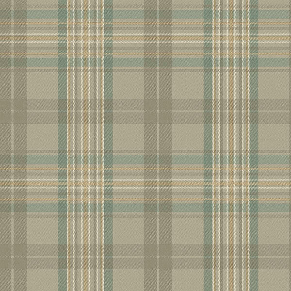 Austin Grey Plaid Wallpaper Wallpaper