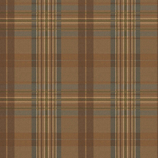 Austin Blue Plaid Wallpaper Wallpaper