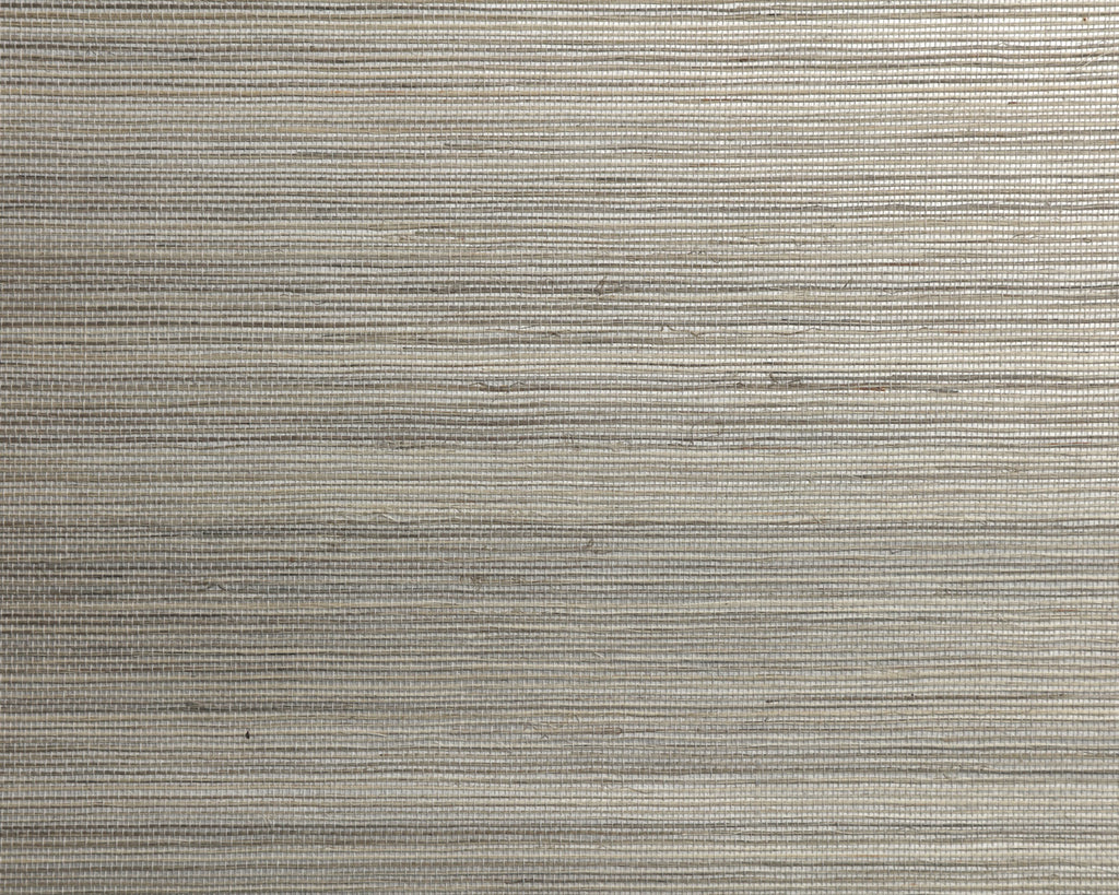 Duo Sisal - Mineral White Wallpaper