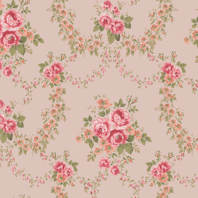 Tallulah - Pink Wallpaper
