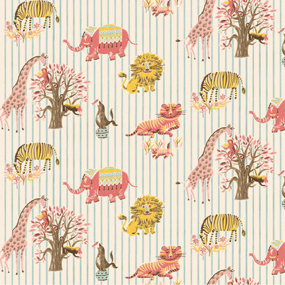 Visiting the Zoo Wallpaper