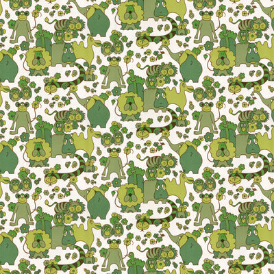 Topiary Friends Wallpaper