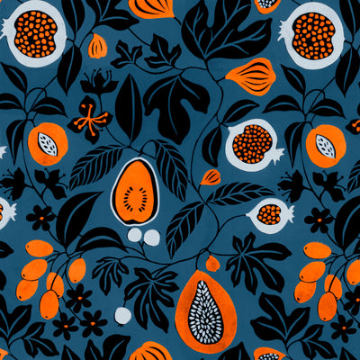 Folk Fruit - Midnight Wallpaper