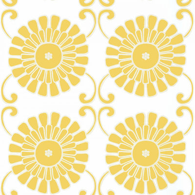 Sun Garden - Yellow Wallpaper