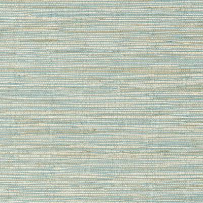 Jindo Grass - Beige on Mineral Wallpaper
