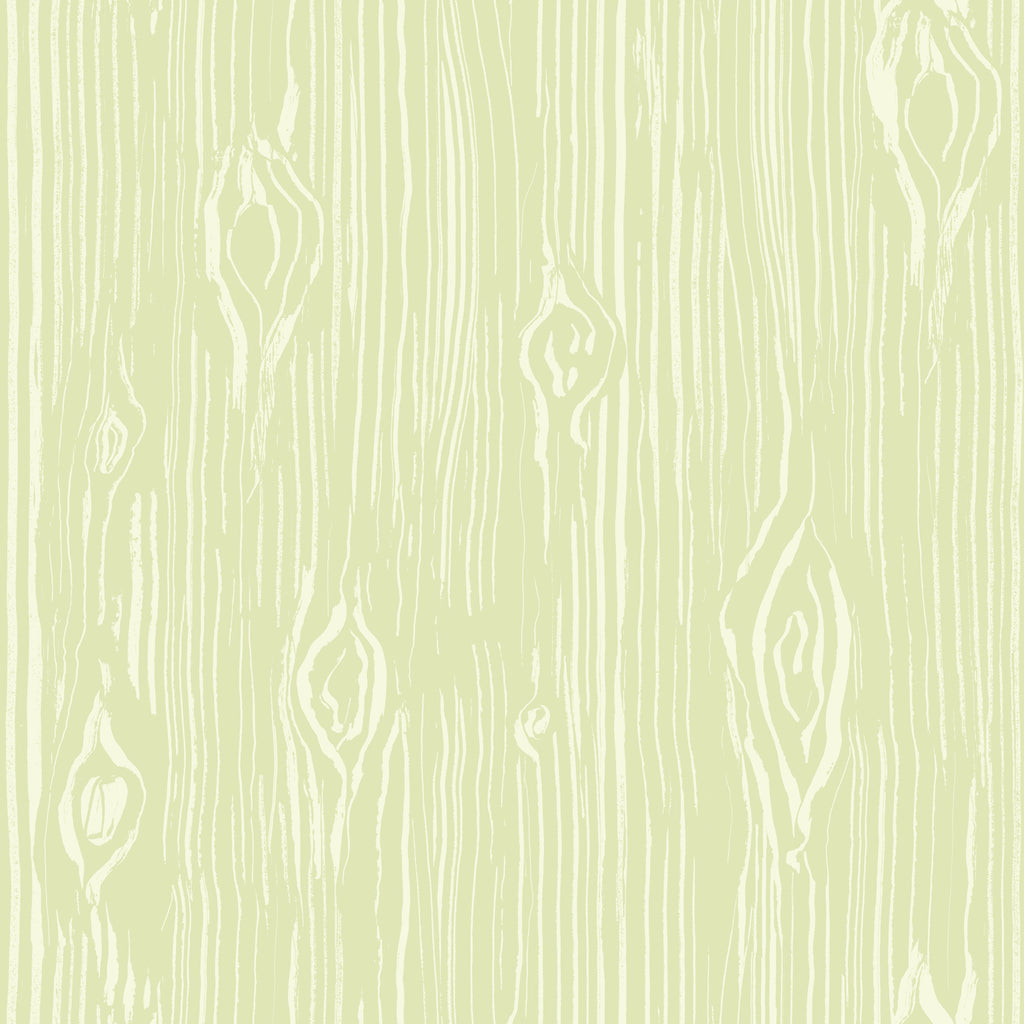 Oaked Moss Faux Wood Grain Wallpaper Wallpaper