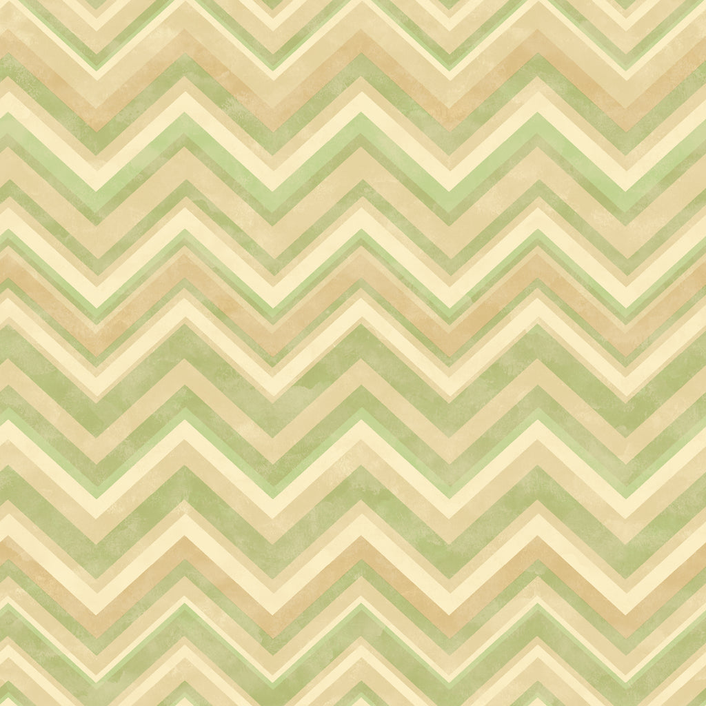 Oasis Moss Chevron Wallpaper Wallpaper