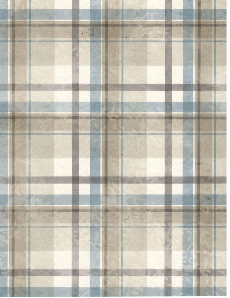 Mckinney Cream Kids Place Tartan Wallpaper Wallpaper
