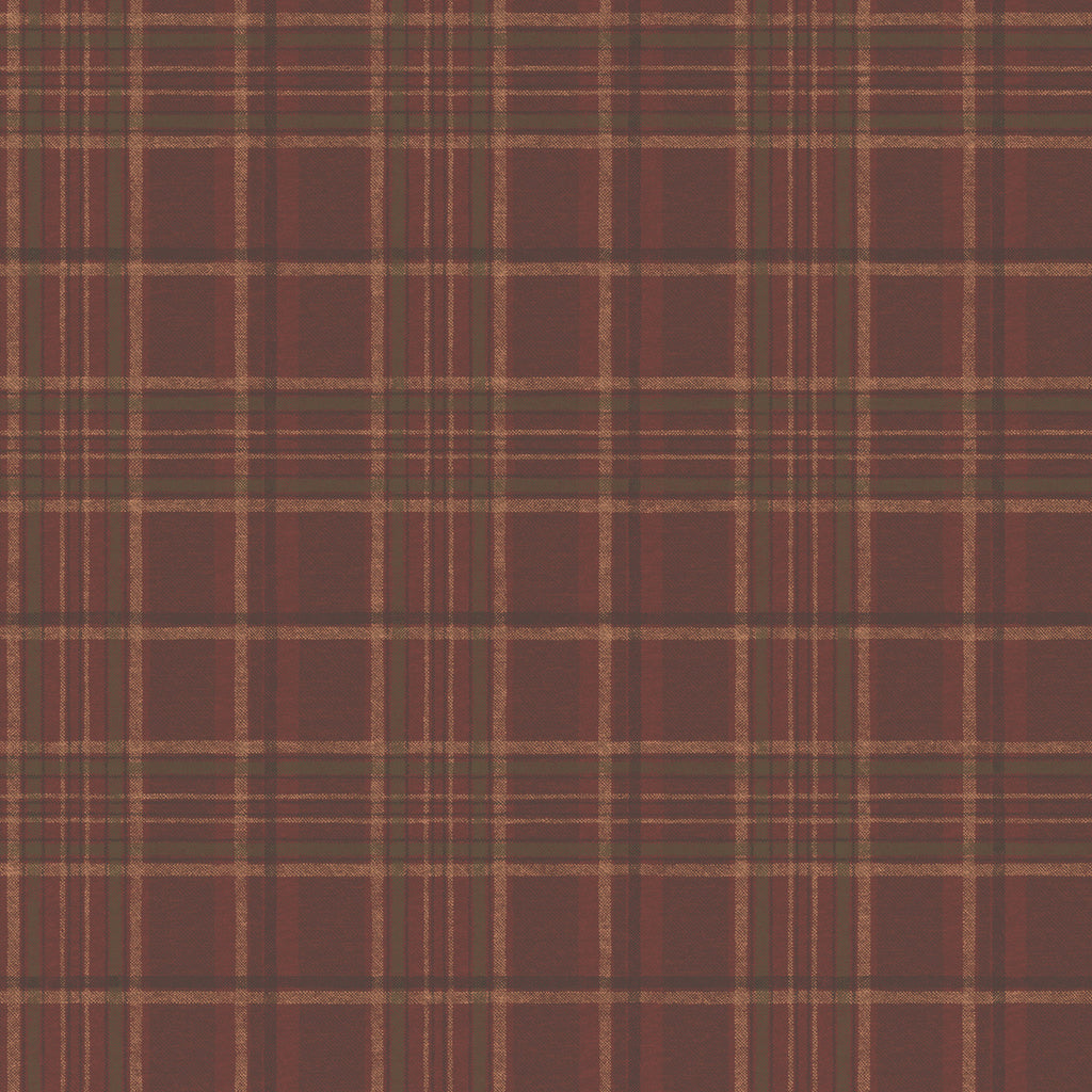 Helmsley Red Tartan Wallpaper Wallpaper