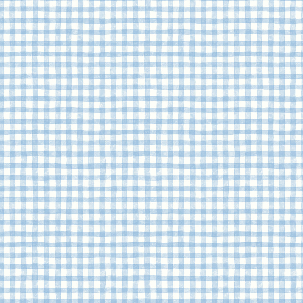 Dorothy Blue Washy Plaid Tartan Wallpaper Wallpaper