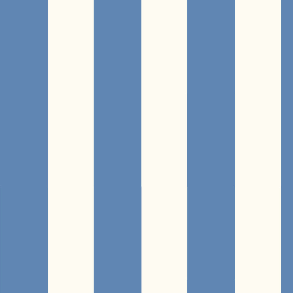 Marina Mariner Blue Marble Stripe Wallpaper Wallpaper