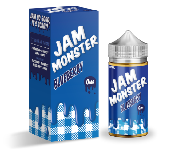 Jam Monster- Blueberry Flavour 100ML E-juice