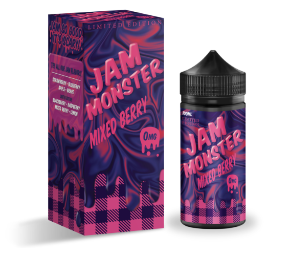 Jam Monster- Mixed Berry Flavour 100ML E-juice