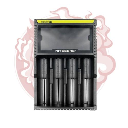 Nitecore - Intellicharger D4 LCD 4-Slot Charger