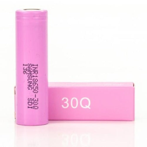BATTERY - Samsung Authentic 30Q 3000mAh 20A 18650-battery