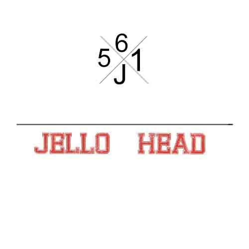 E-Juices - 561 Juice - Jello Head 60ml