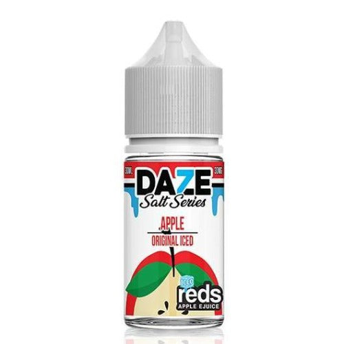 E-Juices - 7DAZE - (NIC-SALT)  Iced Apple 30ml