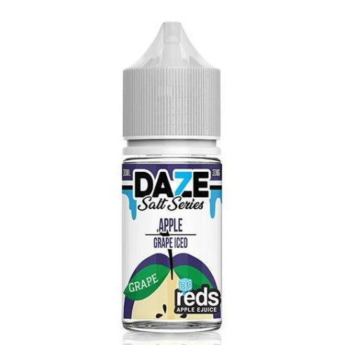 E-Juices - 7DAZE - (NIC-SALT)  Iced Apple Grape 30ml