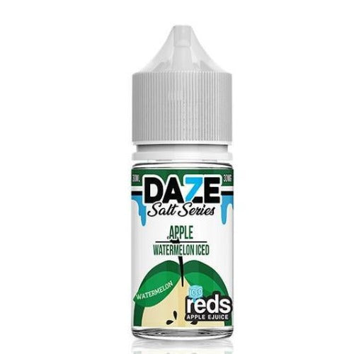 E-Juices - 7DAZE - (NIC-SALT)  Iced Apple Watermelon 30ml