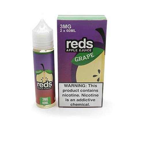 E-Juices - 7DAZE - Reds Apple Grape 60ml
