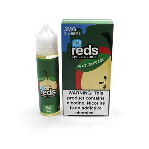 E-Juices - 7DAZE - Iced Apple Watermelon- 60ml