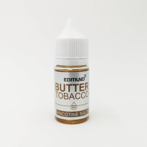 E-Juices - EDMUND BUTTER TOBACCO (NIC-SALT) 30ML