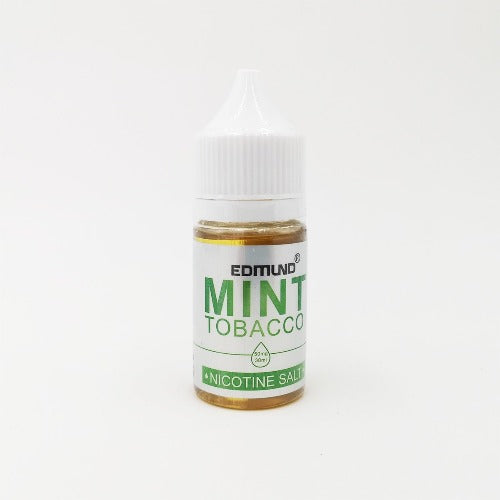 Edmund - 30ml 40mg Nic Salt E-juice Mint Tobacco Flavour