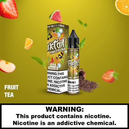 E-Juices - FoxTail - 30ml 35mg Nic Salt E-juice Fruit Tea Flavour