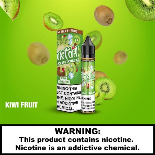 E-Juices - FoxTail - 30ml 35mg Nic Salt E-juice Kiwi Fruit Flavour