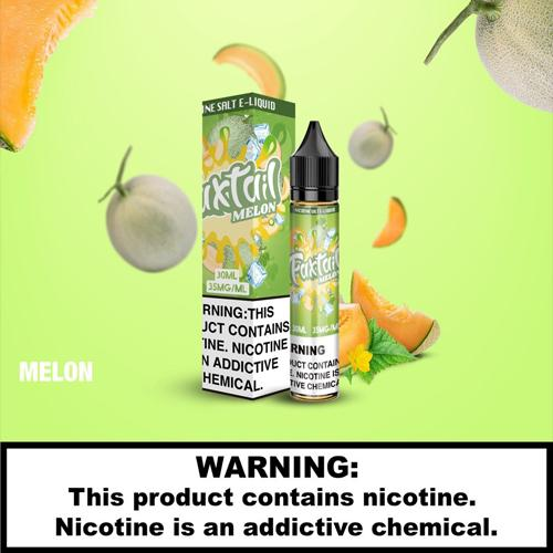 E-Juices - FoxTail - 30ml 35mg Nic Salt E-juice Melon Flavour