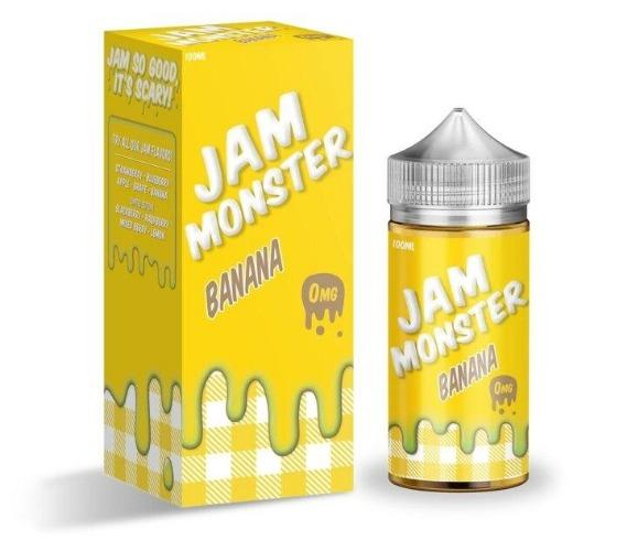E-Juices - Jam Monster- Banana Flavour 100ML E-juice