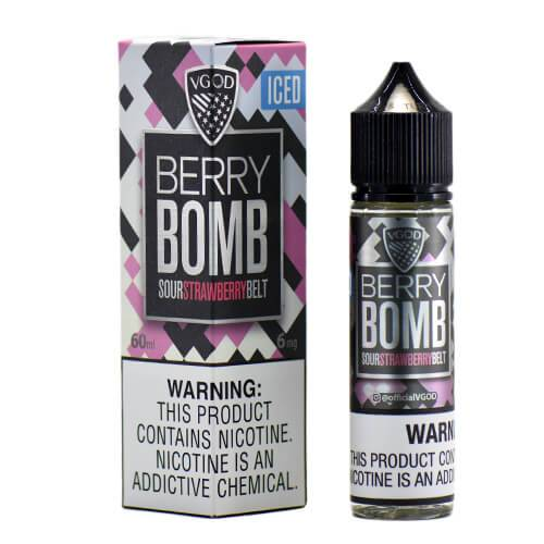E-Juices - VGOD - Berry Bomb Iced Flavour 60ml 3mg E-juice