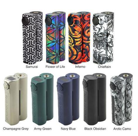 Mods & Kits - Squid Industries Double Barrel V3 150W VW MOD